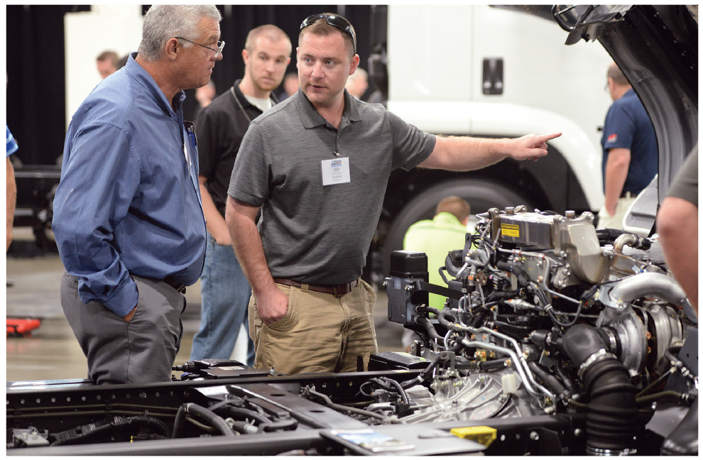 Model year changes and upfitter options featured at NTEA's