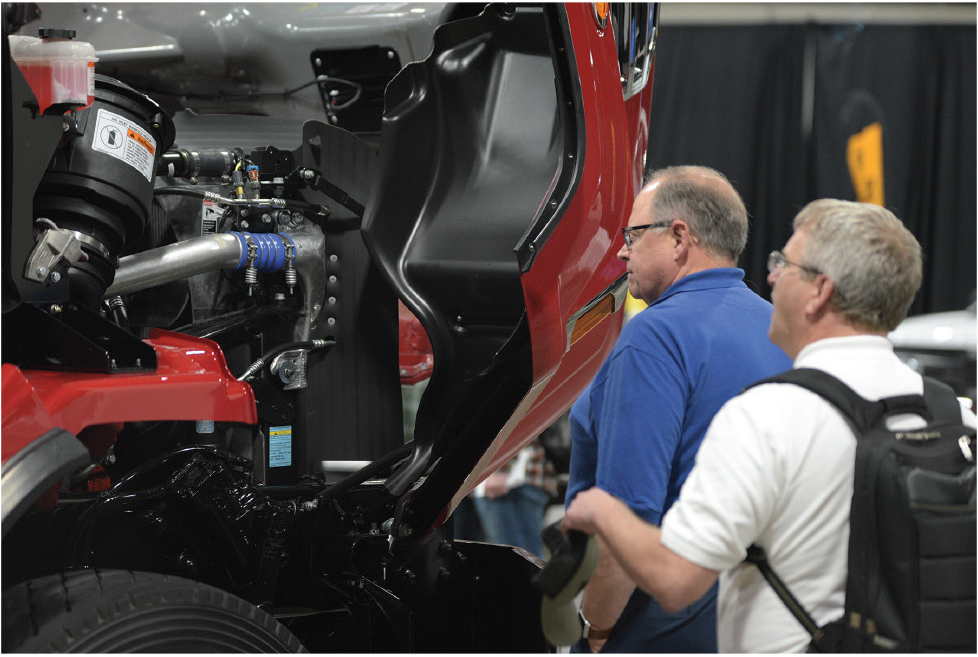 Model year changes and upfitter options featured at NTEA's Truck