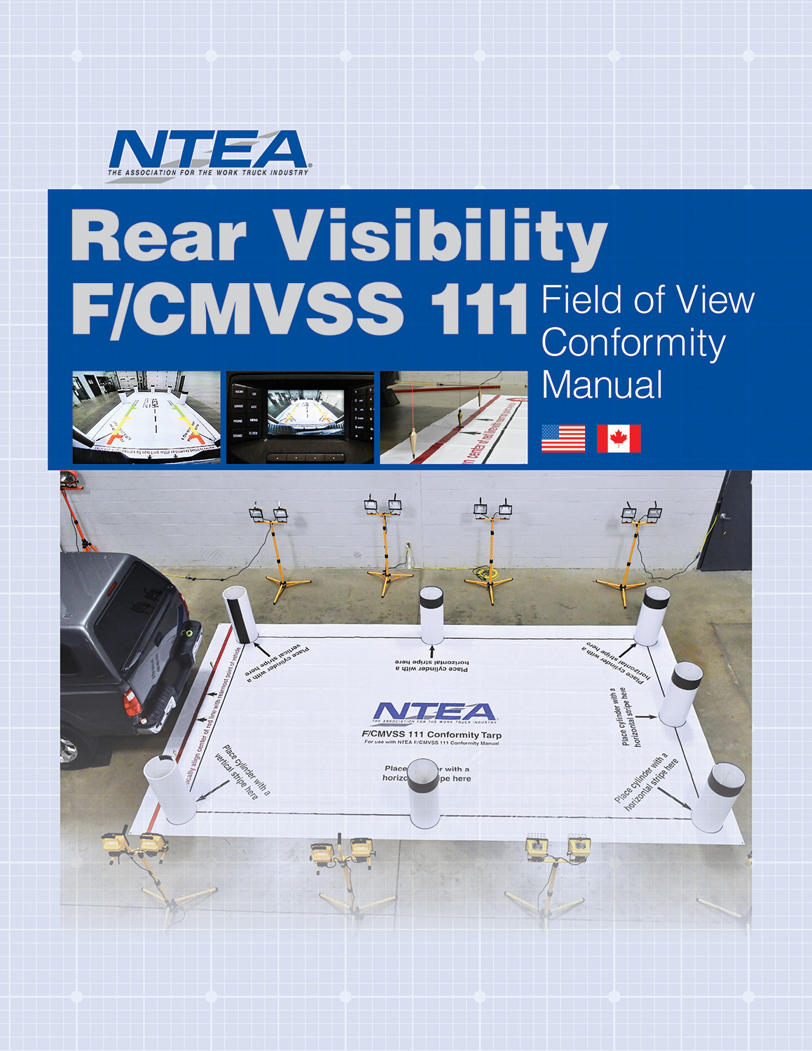 Rear Visibility F/CMVSS 111 Field of View Conformity Kit