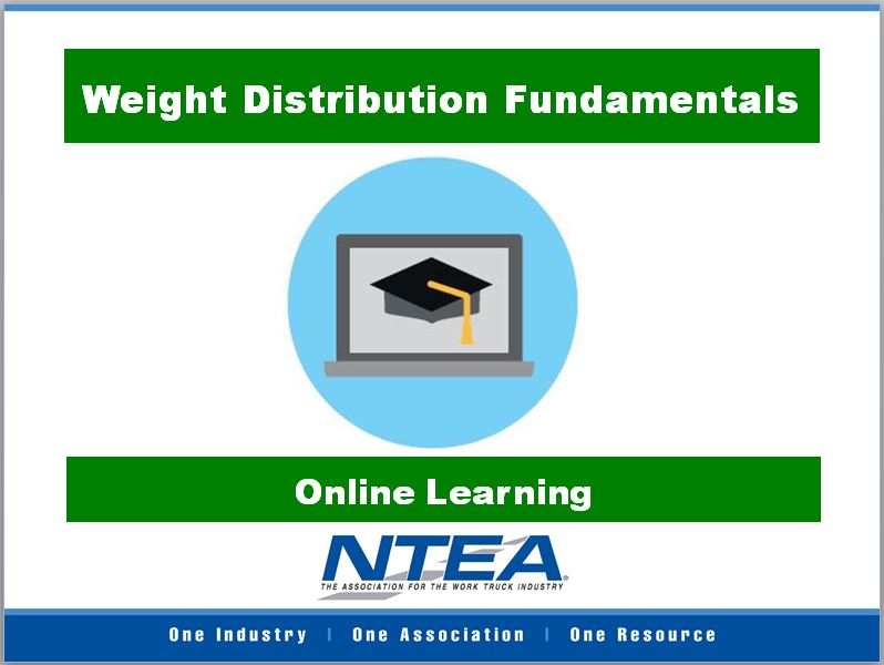 Weight Distribution Fundamentals Online Course